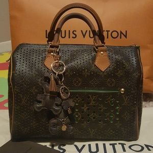 Louis Vuitton Bags - Louis Vuitton Limited Ed Perforated Speedy